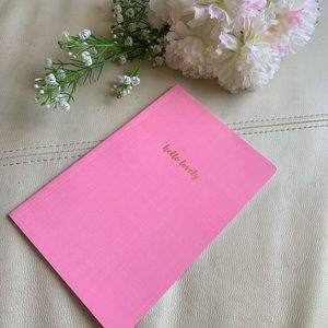 💕5 for $10! Hello Lovely notebook 📒